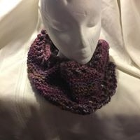 Infinity scarf - maroons