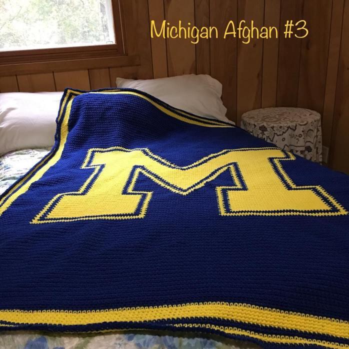 Michigan 3 afghan